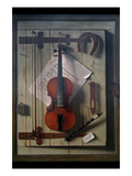 Violin and Music Prints by William Hartnett
