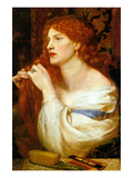 Aurelia; Fazio's Mistress Photo by Dante Gabriel Rossetti