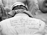Vietnam War U.S. Marine Quote Photographic Print by Rick Merron