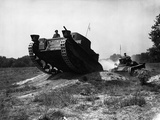 WWII Britain Tank Training Photographic Print by  Anonymous