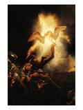 Resurrection–Die Auferstehung Poster von  Rembrandt van Rijn