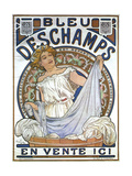 Bleu Dsechamps Sold Here Posters by Alphonse Mucha