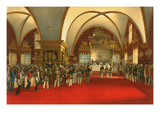 Coronation Banquet for Alexander II - 1856 Print by Vasily Timm