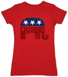 Juniors: GOP LOGO - Grand Old Party T-shirts