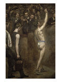 Salutat Poster by Thomas Cowperthwait Eakins