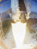 Apollo 15 Launch 1971 Photographic Print