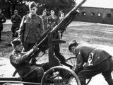 WWII Denmark Weapon Training Photographic Print by  Anonymous