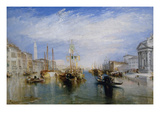 Venice, from the Porch of Madonna Della Salute, Ca. 1835 Posters af J. M. W. Turner