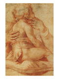 Study for Christ Child Prints by Francesco De Rossi Salviati Cecchino