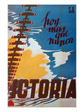 Today, More Than Ever Victory Prints by  Renau
