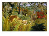 Surprise Posters by Henri Rousseau