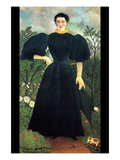 Portrait of a Woman Prints by Henri Rousseau