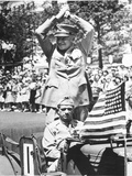 Ike WWII Parade 1945 Photographic Print by  Anonymous