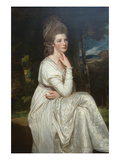 Lady Elizabeth Hamilton, Countess of Derby Posters by George Romney