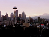 Seattle Skyline Photographic Print by Barry Sweet