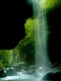 Greece Waterfall Photographic Print by Petros Giannakouris