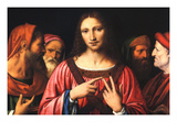 Christ Among the Doctors Premium Giclee Print by Bernardino Luini
