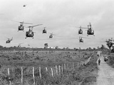 Vietnam War U.S. Ground Troops Photographic Print by  Associated Press