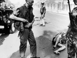 Vietnam War Vietcong Officer Execution Photographic Print by Eddie Adams
