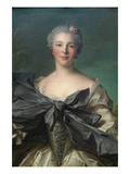 Marie Françoise De La Cropte De St. Abre, Marquise D'Argence Prints by Jean-Marc Nattier