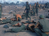 Vietnam War Wounded 1969 Photographic Print by Horst Faas