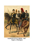 Saddled in Full Dress - 1888 - Regalia in Washington Posters by Henry Alexander Ogden