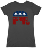 Juniors: GOP LOGO - Grand Old Party T-Shirt