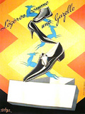 Gazelle Shoes Collectable Print by Robys (Robert Wolff)