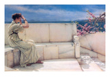 Expectations Kunst af Sir Lawrence Alma-Tadema