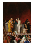 The Slave Market Print by Jean-Leon Gerome