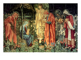Adoration of the Kings Art by Sir Edward Coley Burne-Jones