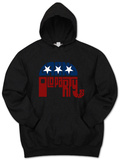 Hoodie: GOP Logo - Grand Old Party T-shirts