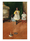 Ring Toss Prints by William Merritt Chase