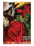 The United Front of Solidarity Posters by  Molina