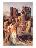 Zenobia Found by Shepherds on the Banks of the Araxes Prints by William Adolphe Bouguereau