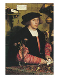 George Gisze - a Merchant Posters par Hans Holbein the Younger