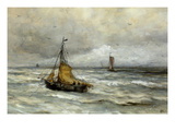 Off the Coast Posters by Hendrik William Mesdag