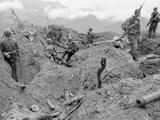 Vietnam War S. Vietnamese U.S. Photographic Print by Dana Stone