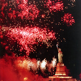 Statue of Liberty Fourth of July Photographic Print by Rusty Kennedy