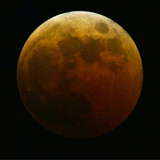 Lunar Eclipse Photographic Print by Harry Cabluck