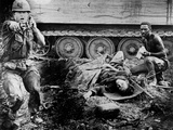 Vietnam War U.S. Casualty Photographic Print by Oliver Noonan