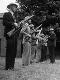 WWII England Home Guard Photographic Print by Eddie Worth