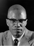 Malcolm X Photographic Print by Eddie Adams