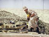 7 Armoured Brigade Desert Rats Load Photographic Print by John Gaps III