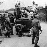 WWII Nazi Camp Atrocities Photographic Print by  Anonymous