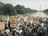 Civil Rights Washington March 1963 Photographie par  Associated Press