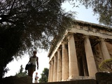 Travel Trip Athens on a Budget Photographic Print by Thanassis Stavrakis