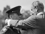 Lyndon Johnson Photographic Print by Charles Tasnadi
