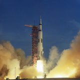 Saturn V Rocket Photographic Print