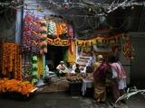 India Hindu Festival Photographic Print by Mustafa Quraishi